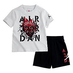 Boys' Toddler Jordan AJ 5 Raging Bull T-Shirt and Shorts Set