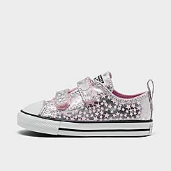 Girls' Toddler Converse Chuck Taylor Low Top Casual Shoes