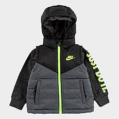 Boys' Toddler Nike 2Fer Puffer Jacket