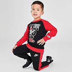 Boys' Toddler Nike Crewneck Sweatshirt and Jogger Pants Set
