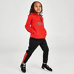 Boys' Toddler Nike Therma Fleece Half-Zip Pullover Hoodie and Jogger Pants Set