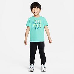 Kids' Toddler Nike Just Do It T-Shirt and Jogger Pants Set