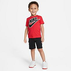Kids' Toddler Nike Futura T-Shirt and Cargo Shorts Set