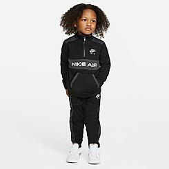 Boys' Toddler Nike Air Tricot Half-Zip Pullover and Jogger Pants Set