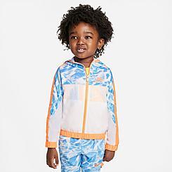 Kids' Toddler Nike Swish Splash Full Zip Jacket