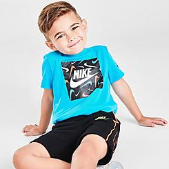 Boys' Toddler Nike Swooshfetti Box Fill T-Shirt