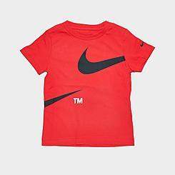 Boys' Toddler Nike Split Swoosh TM T-Shirt