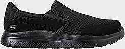 Men's Skechers Work Relaxed Fit: Flex Advantage - McAllen Slip-Resistant Work Shoes (Wide Width)