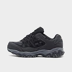Men's Skechers Work Relaxed Fit: Cankton Steel Toe Work Shoes