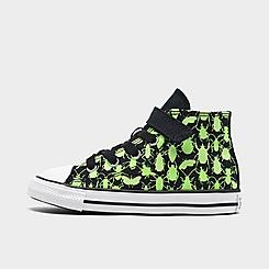 Boys' Toddler Converse Chuck Taylor All Star 1V Hi Glow Bugs Casual Shoes