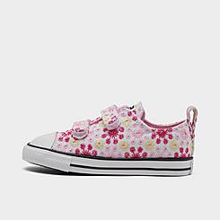 Girls' Toddler Converse Canvas Broderie Easy-On Chuck Taylor All Star Casual Shoes