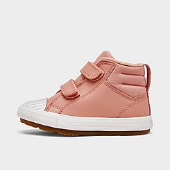 Girls' Toddler Converse Chuck Taylor All Star Berkshire Leather High Top Casual Boots