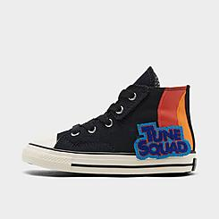 Kids' Toddler Converse x Space Jam Chuck Taylor All Star 70 High Top Casual Shoes