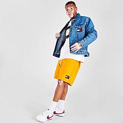 Men's Tommy Jeans Drawstring Fleece Shorts