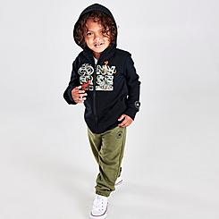 Boys' Toddler Converse All Star Dino Full-Zip Hoodie and Jogger Pants Set