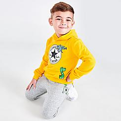 Boys' Toddler Converse Dino Friends Hoodie and Jogger Pants Set