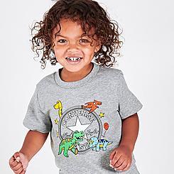 Boys' Toddler Converse Dino T-Shirt