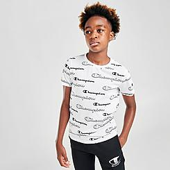 Kids' Champion Allover Shadow Logo T-Shirt