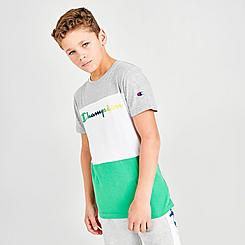 Boys' Champion Colorblock Script T-Shirt