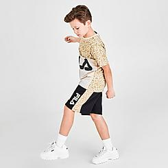 Boys' Fila Mitch French Terry Athletic Shorts