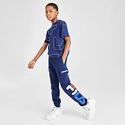 Boys' Fila Ethan Cargo Jogger Pants