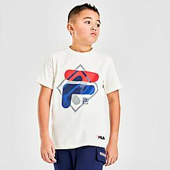 Boys' Fila Layered Logo T-Shirt
