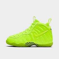 Boys' Little Kids' Nike Air Little Foamposite Pro Basketball Shoes