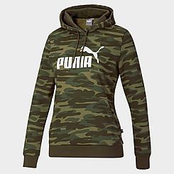 Women's Puma Essentials+ Camo Logo hoodie