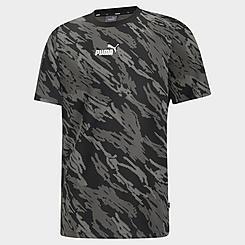Men's Puma Graphic All-Over Camo Print T-Shirt