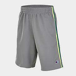 Boys' Champion Tri-Color Mesh Athletic Shorts