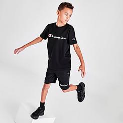Boys' Champion Script Logo Shorts