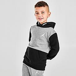 Boys' Little Kids' Jordan Jumpman Air Fleece Hooded Pullover