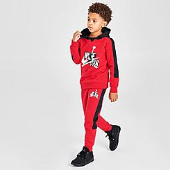 Boys' Little Kids' Jordan Pullover Hoodie and Jogger Pants