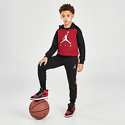 Boys' Little Kids' Jordan Jumpman Fleece Pullover Hoodie and Jogger Pants Set