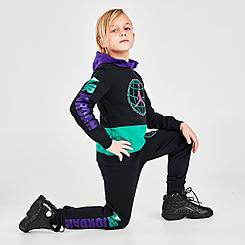 Boys' Little Kids' Jordan JDB Mountainside Fleece Pullover Hoodie and Jogger Pants Set