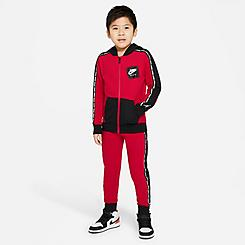 Boys' Little Kids' Jordan Jumpman Full-Zip Jacket and Jogger Pant Set