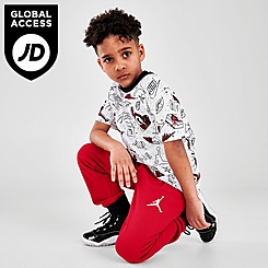 Boys' Little Kids' Jordan Flight AOP T-Shirt and Jogger Pants Set
