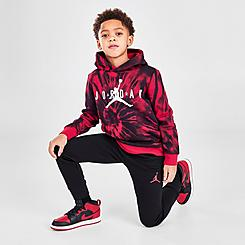 Boys' Little Kids' Jordan AJ6 Tie-Dye Pullover Hoodie and Jogger Pants Set
