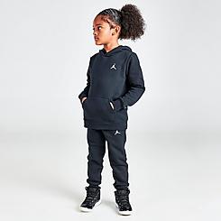 Little Kids' Jordan Essentials Fleece Hoodie and Jogger Pants Set