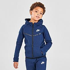Little Kids' Nike Tech Fleece Full-Zip Hoodie