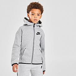 Boys' Little Kids' Nike Sportswear Tech Fleece Full-Zip Hoodie