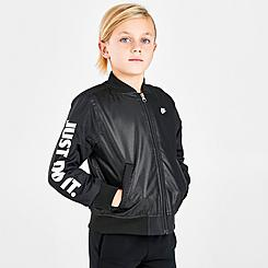 Boys' Little Kids' Nike JDI Bomber Jacket