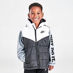 Boys' Little Kids' Nike 2Fer Puffer Jacket