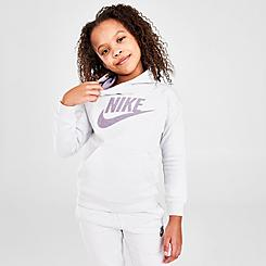 Girls' Little Kids' Nike Futura Pullover Hoodie