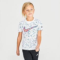 Little Kids' Nike Swoosh Speckled T-Shirt
