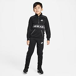 Boys' Little Kids' Nike Air Tricot Half-Zip Pullover and Jogger Pants Set