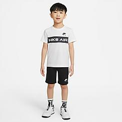 Boys' Little Kids' Nike Air T-Shirt and Shorts Set