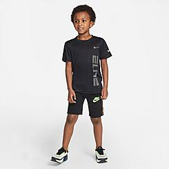 Boys' Little Kids' Nike See Me Futura French Terry Shorts
