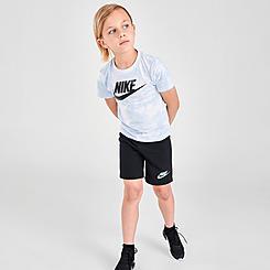 Little Kids' Nike Sportswear Magic Club Tie-Dye T-Shirt and Shorts Set