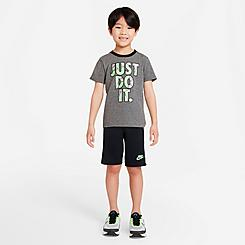 Boys' Little Kids' Nike Just Do It Swish Splash T-Shirt and Shorts Set